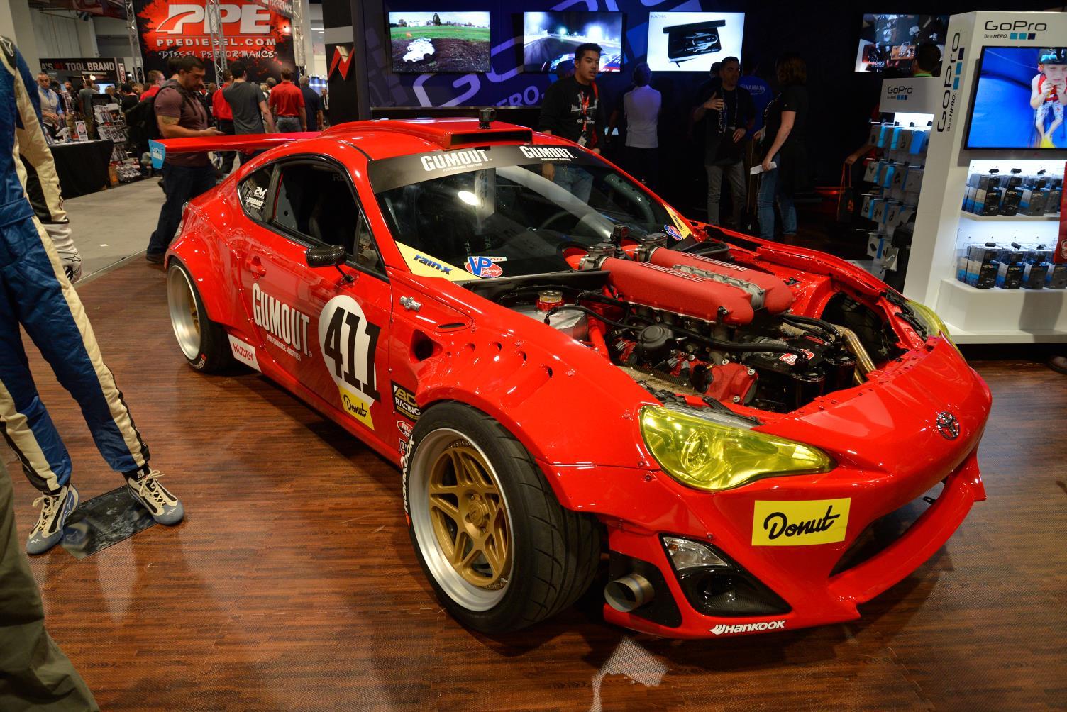 Sema 2016 Toyota Gt86 With Ferrari 458 Engine Gtspirit
