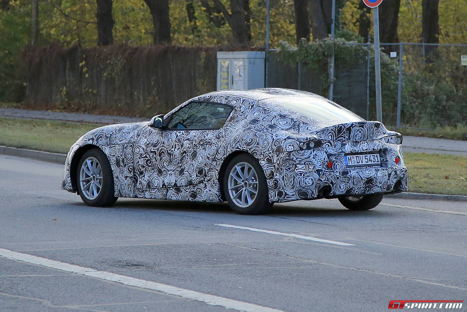 2018 Toyota Supra Latest Spy Shots With Production Body