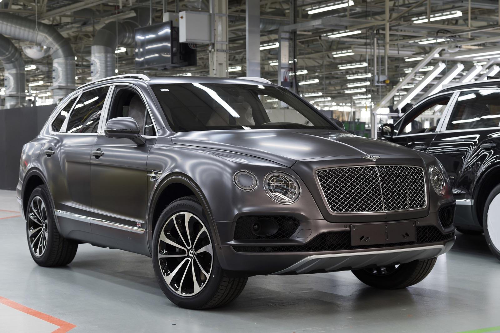 Bentley Bentayga Speed To Launch With 650hp W12 Gtspirit