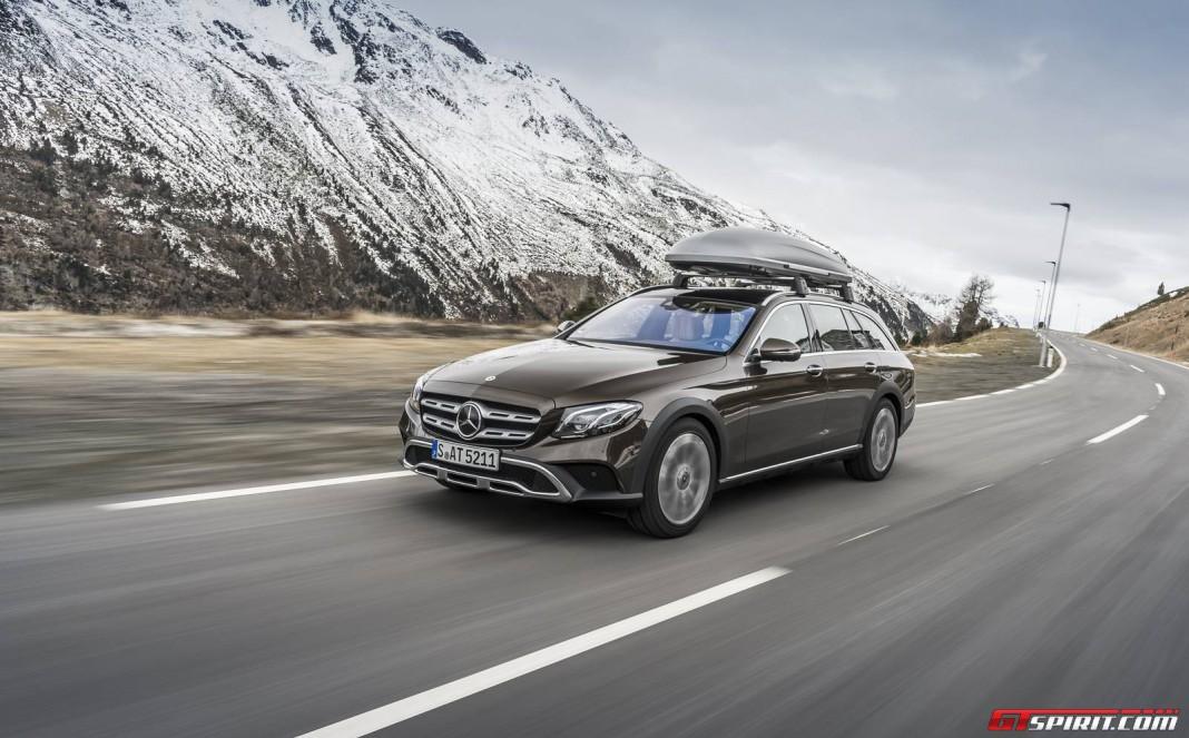 2017 mercedes benz e class all terrain review gtspirit for Mercedes benz 663