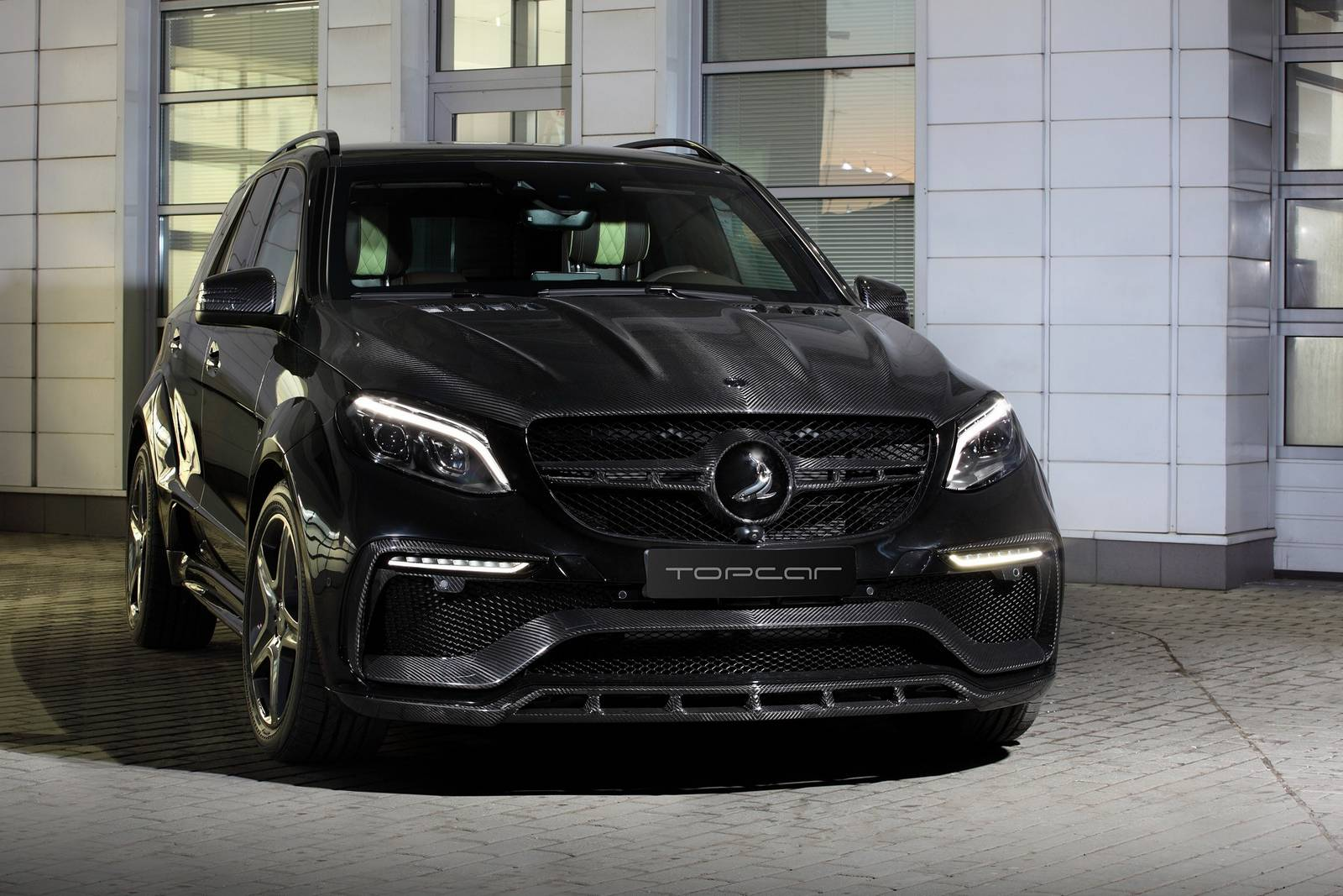 Topcar reveals mercedes benz gle guard inferno package for Mercedes benz guard