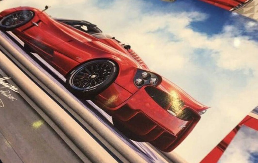 Pagani Huayra Roadster Image Leaks – Official Teaser Released