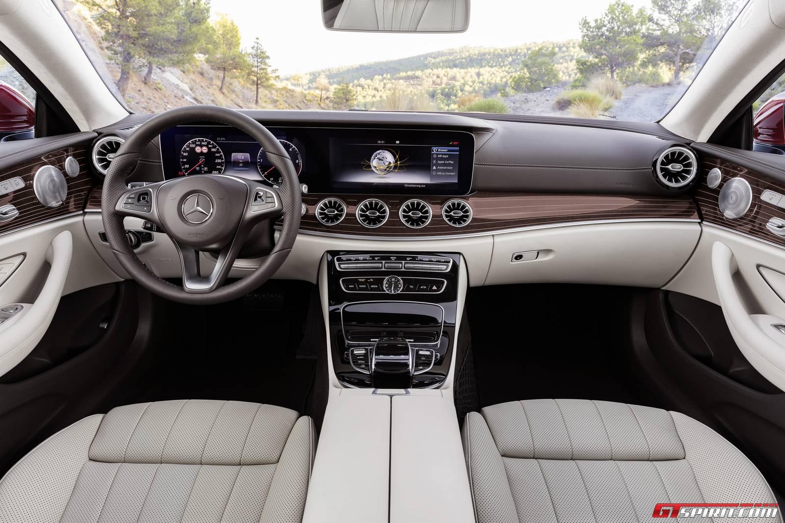 2017 Mercedes-Benz E-Class Coupe Interior