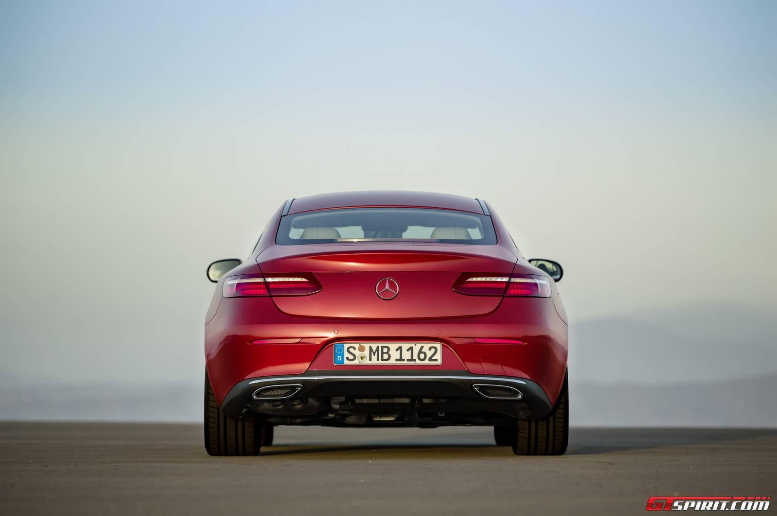 2017 Mercedes-Benz E-Class Coupe Rear
