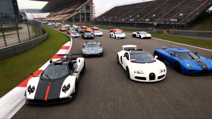 Supercars in China