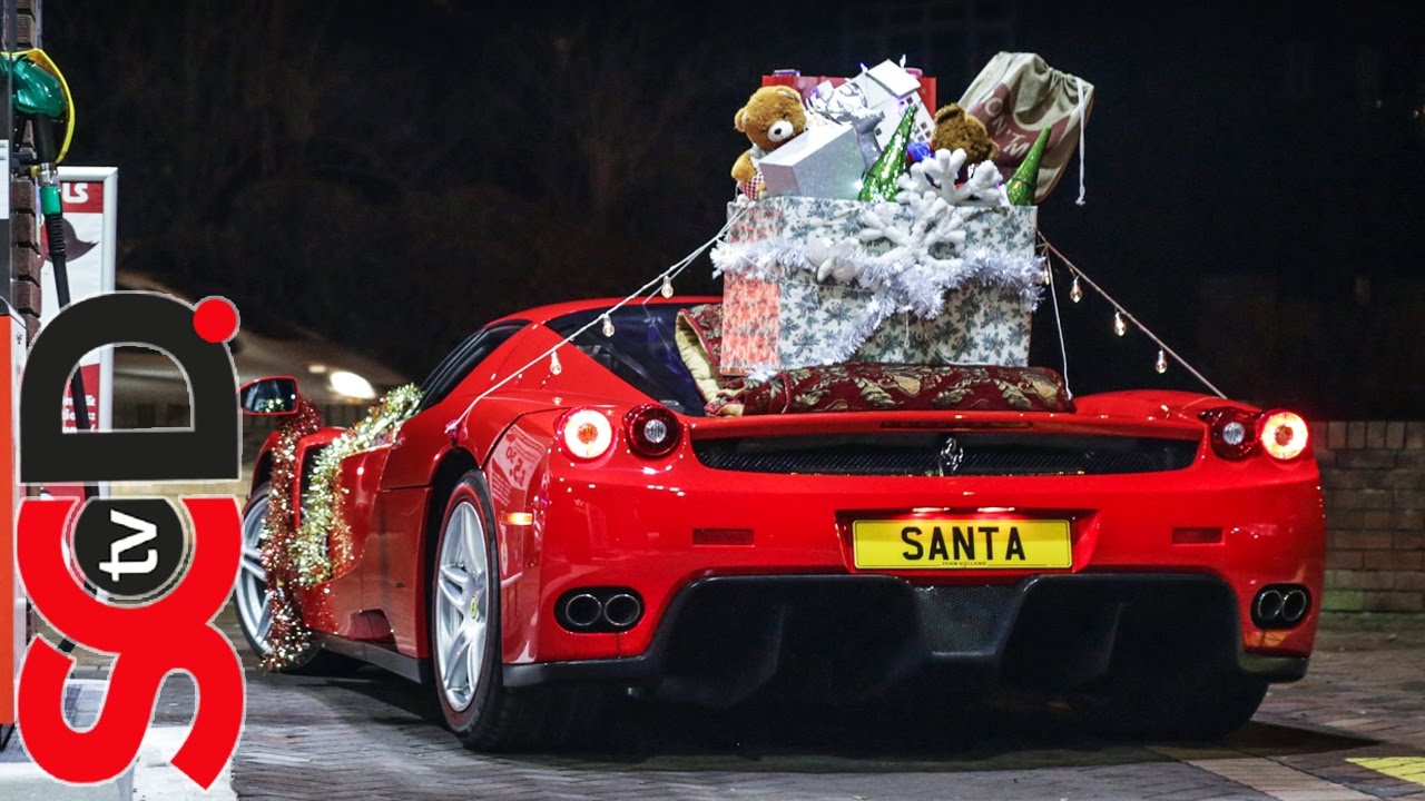 Video: Meet Santa's Ferrari Enzo Sleigh