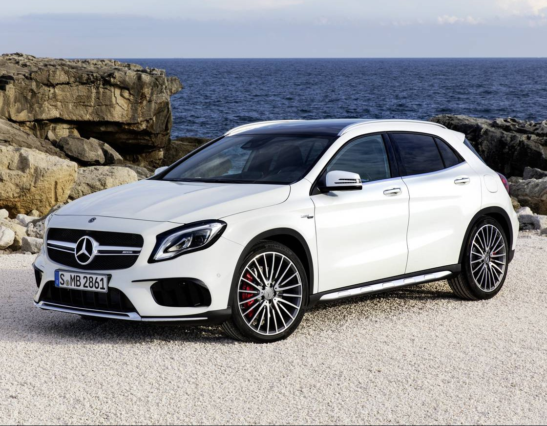 Official: 2018 Mercedes-AMG GLA 45
