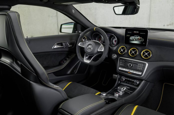 Mercedes-AMG GLA 45 4MATIC Yellow Night Edition