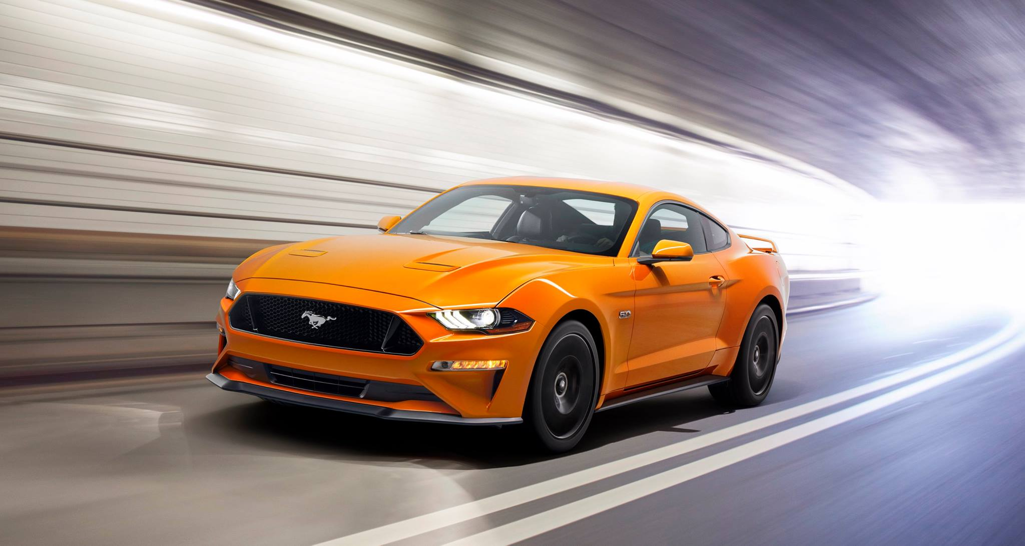 Ford Mustang Convertible facelift revealed