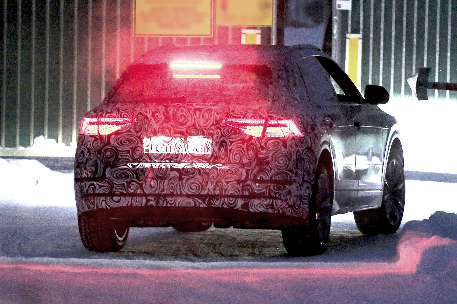 First 2018 Audi Q8 Coupe Spy Shots Emerge In Lapland
