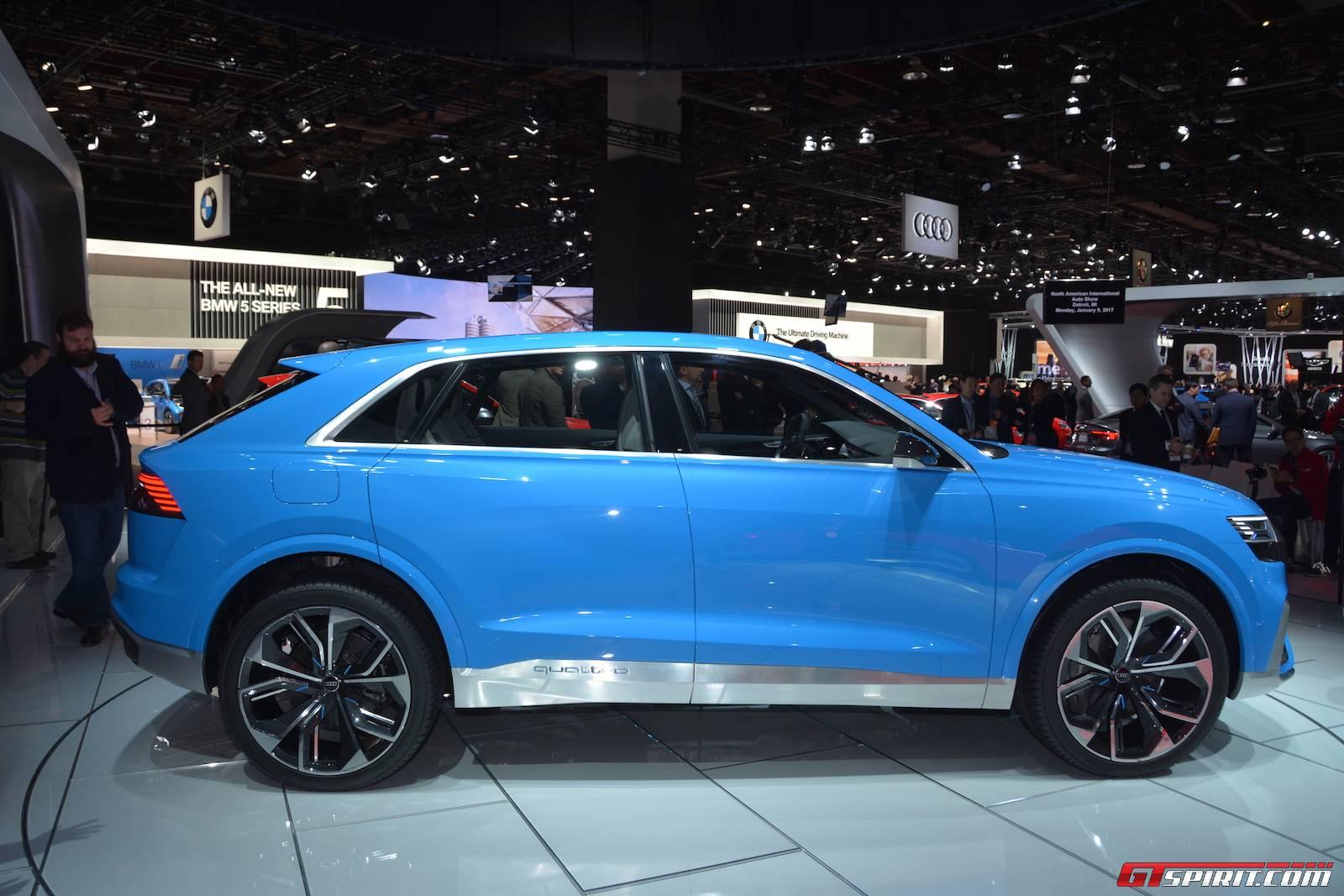 600hp Audi Rs Q8 Concept To Debut At Geneva 2017 Gtspirit