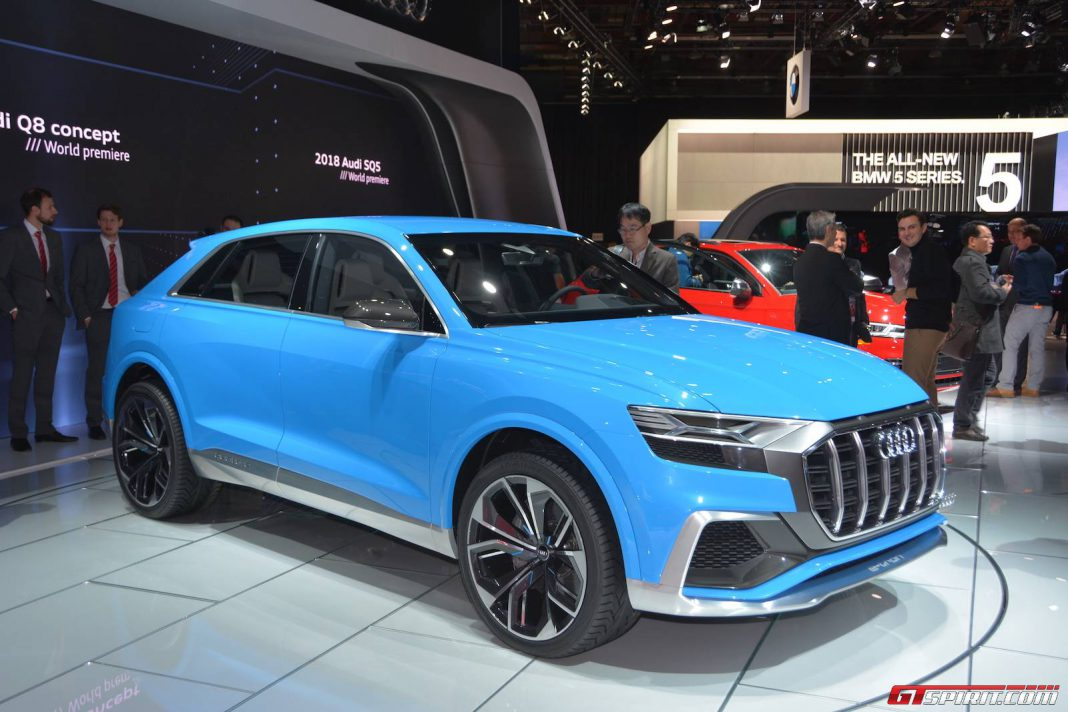 Release Form For Car >> Detroit 2017: Audi Q8 Concept - GTspirit