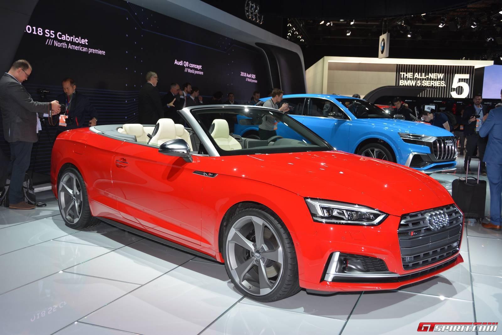 Detroit 2017 Audi S5 Cabriolet