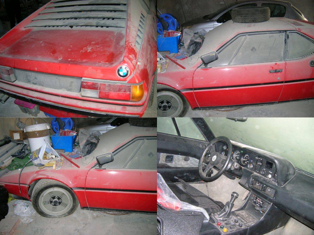 Bmw M1 For Sale >> Astonishing BMW M1 Barn Find Emerges in Italy, Hidden Since 1982 - GTspirit