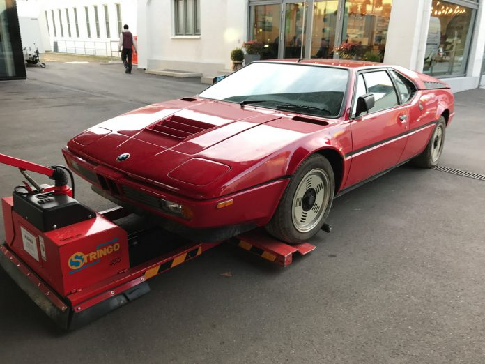 BMW M1 Barn Find (14)