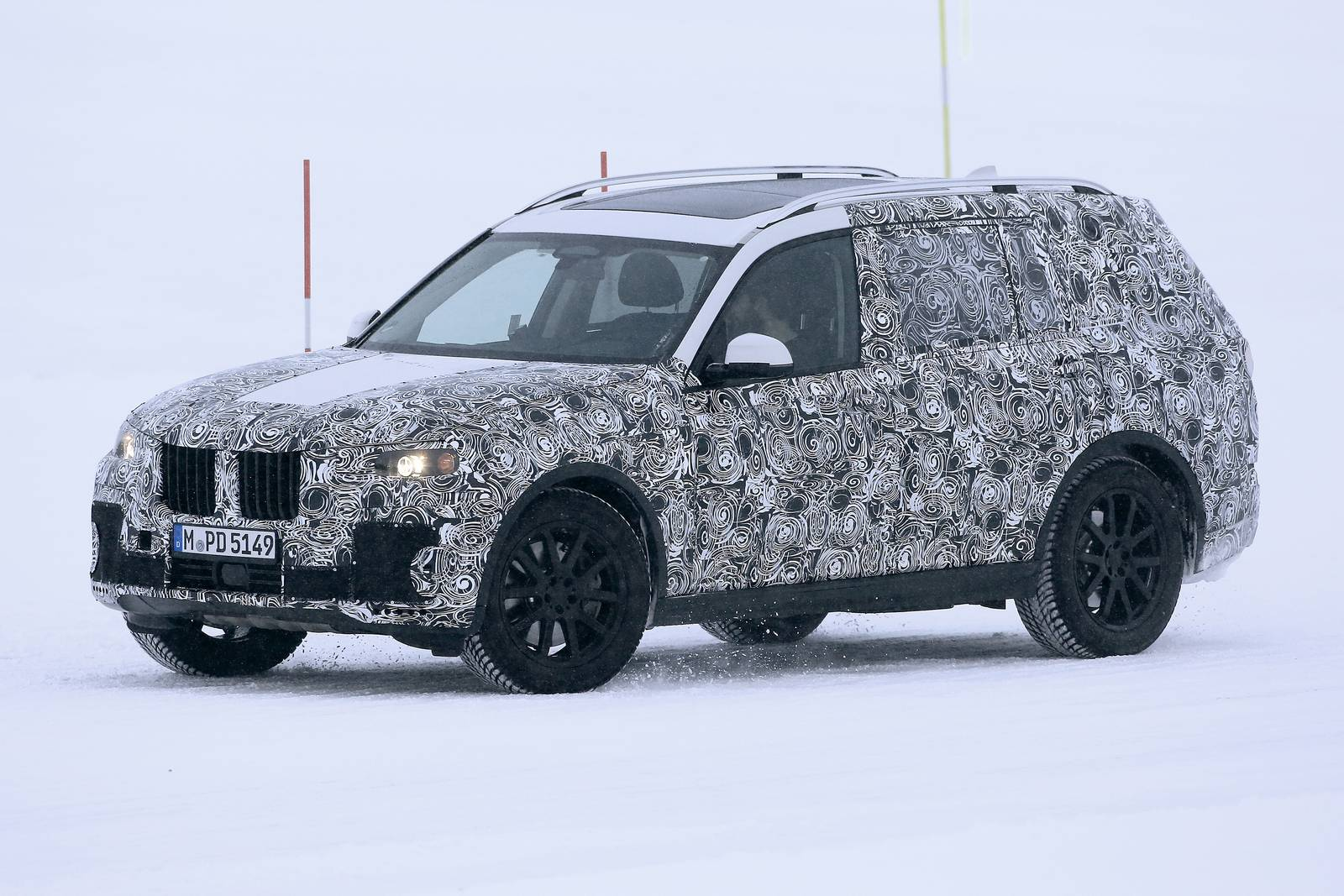 2018 BMW X7 Latest Spy Shots