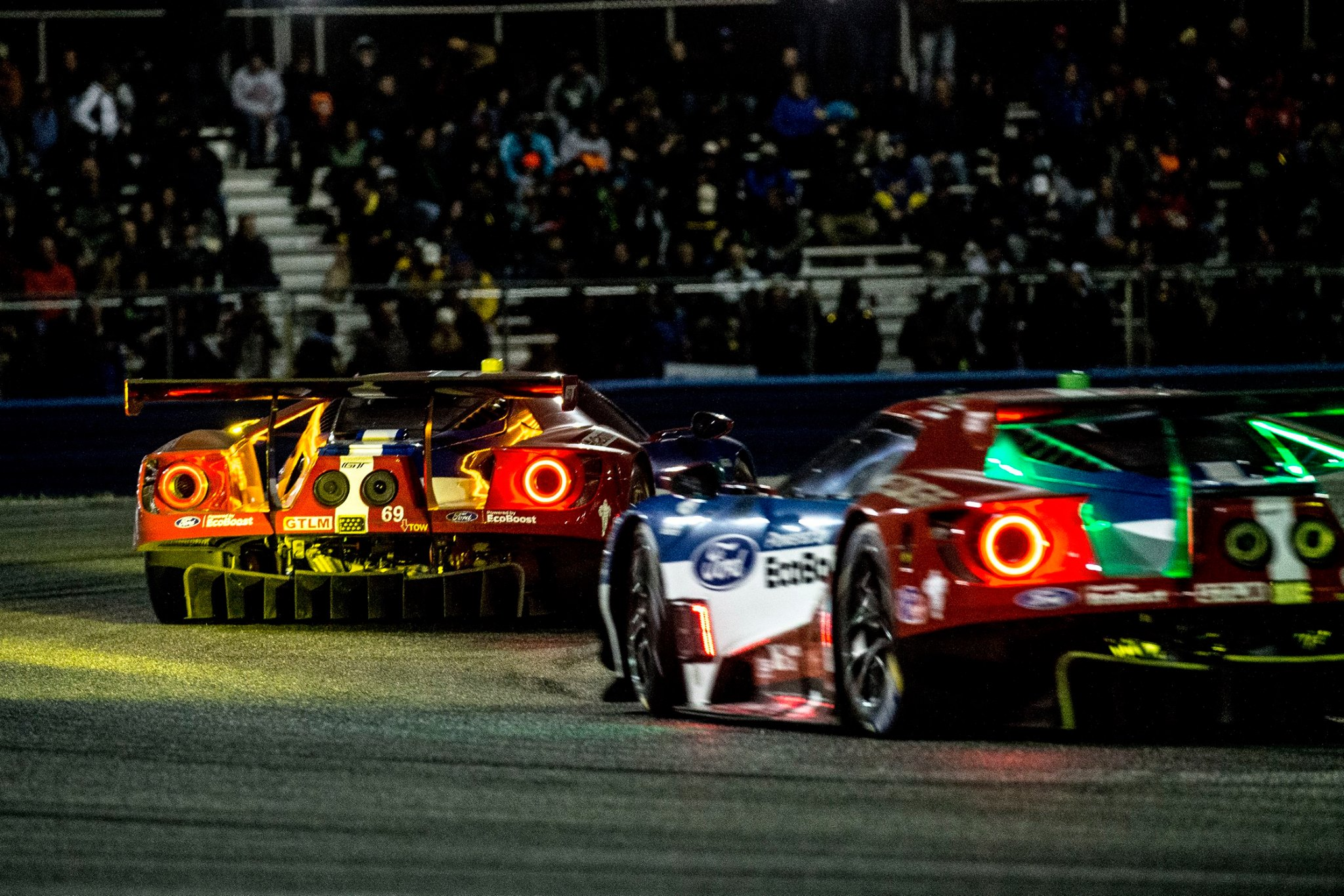 Ford And Cadillac Lead All American Reign At Th Daytona  Hours