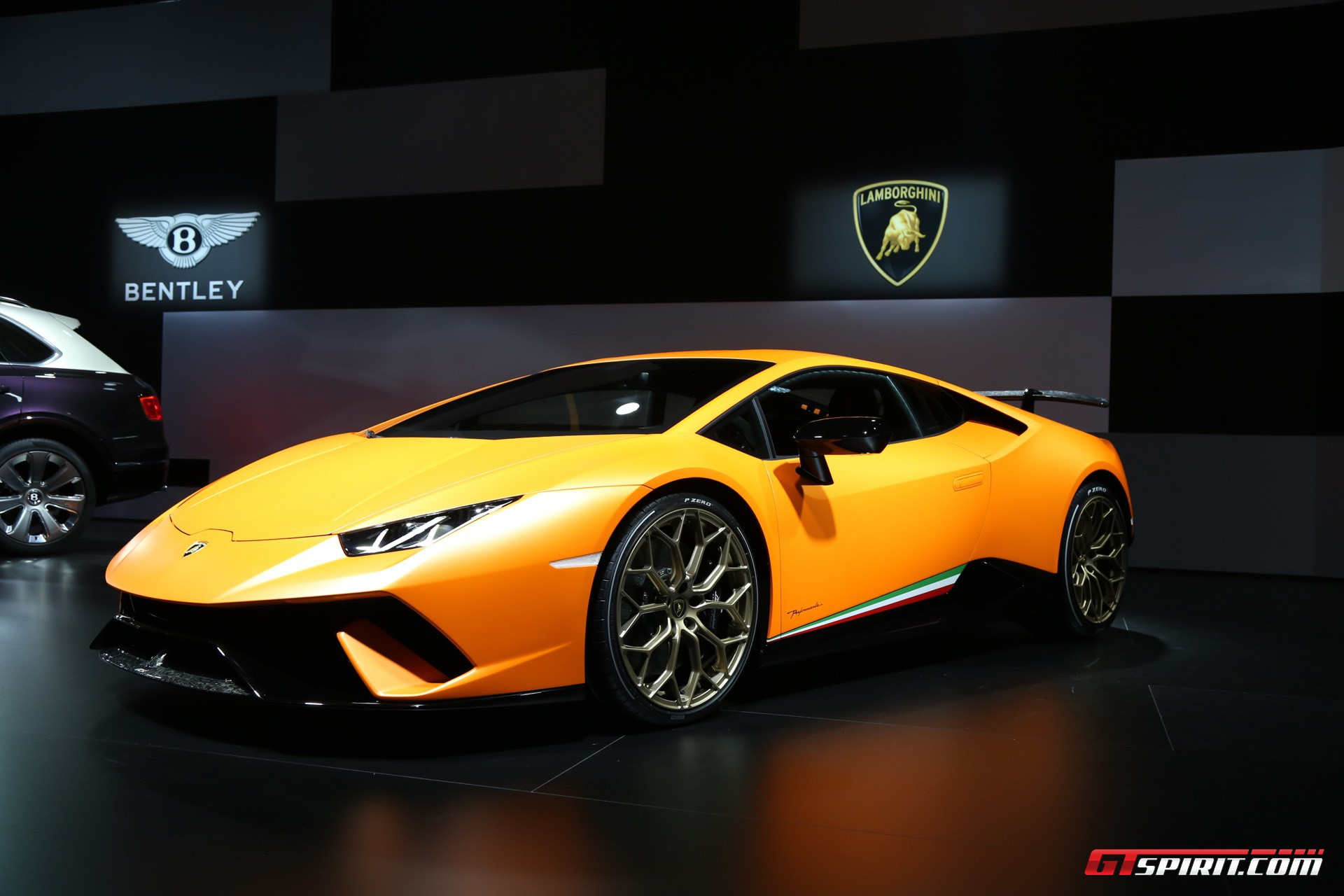 Lamborghini Huracan Performante at Geneva