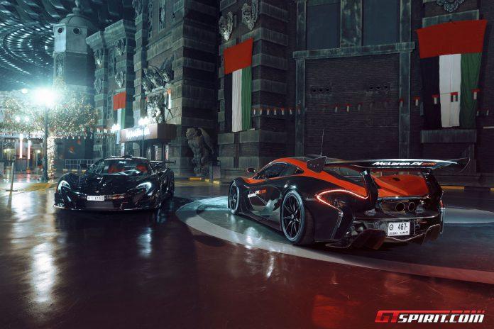 McLaren P1 GTR IMG Worlds of Adventure