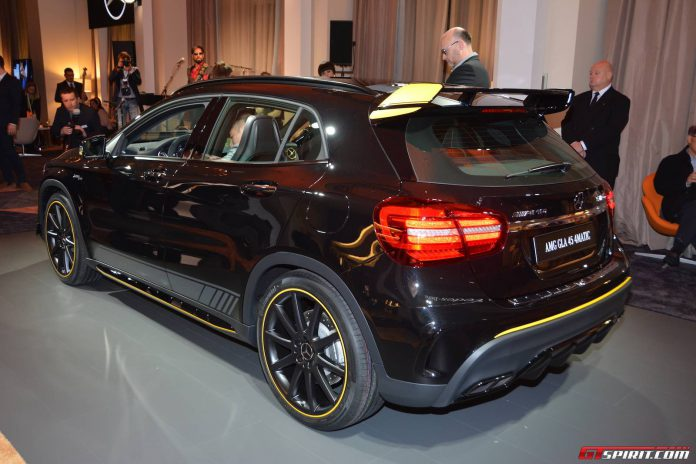 Mercedes-AMG GLA 45 Yellow Night Edition (2)