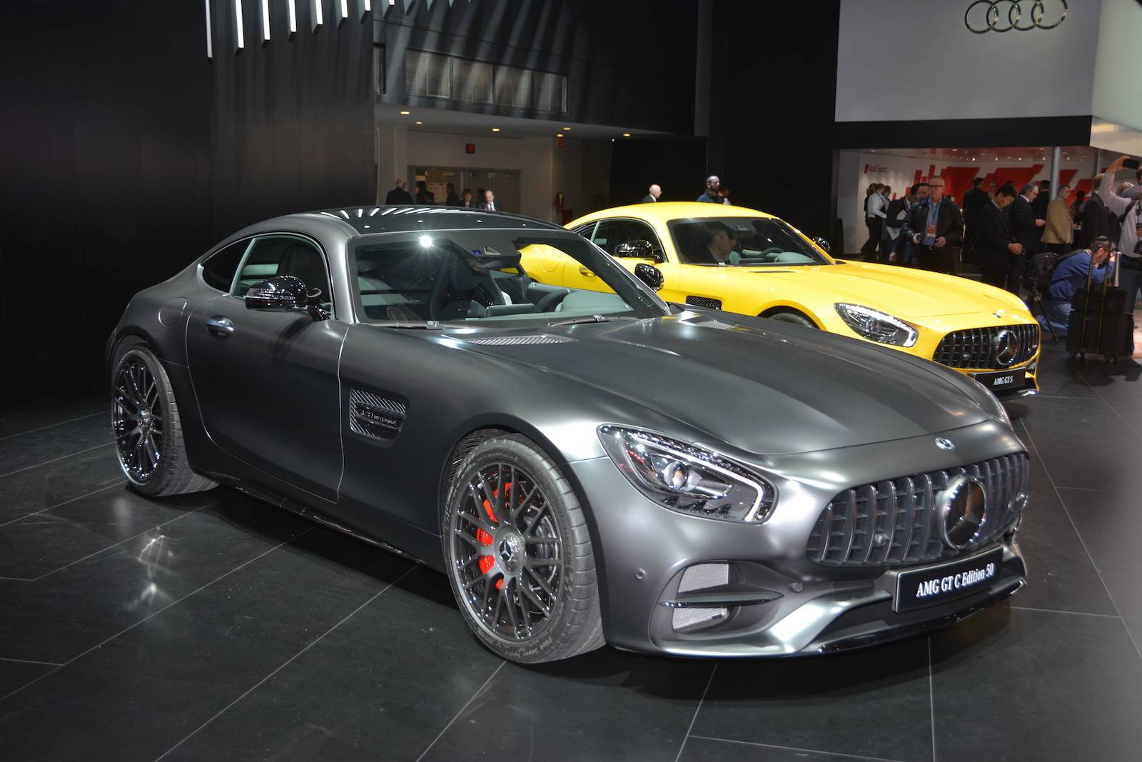 detroit 2017 mercedes amg gt c edition 50 gtspirit. Black Bedroom Furniture Sets. Home Design Ideas