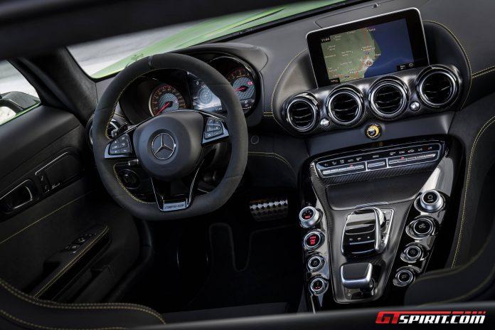 AMG GT R Interior