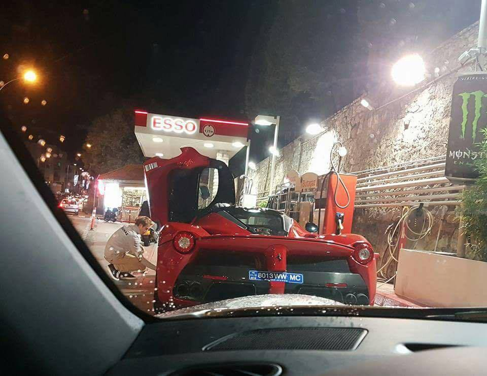 Nico Rosberg Spotted in a New LaFerrari in Monaco