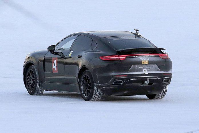 Porsche Mission E Test Mule