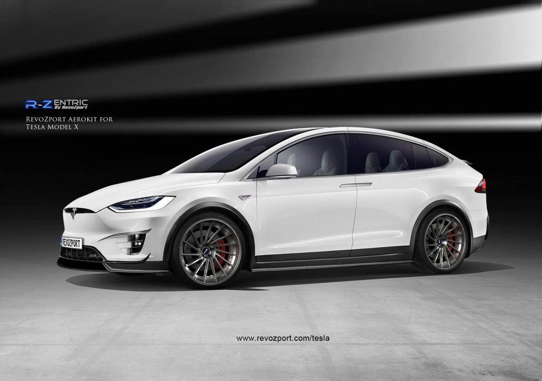 Official: RevoZport R-Zentric Tesla Model X