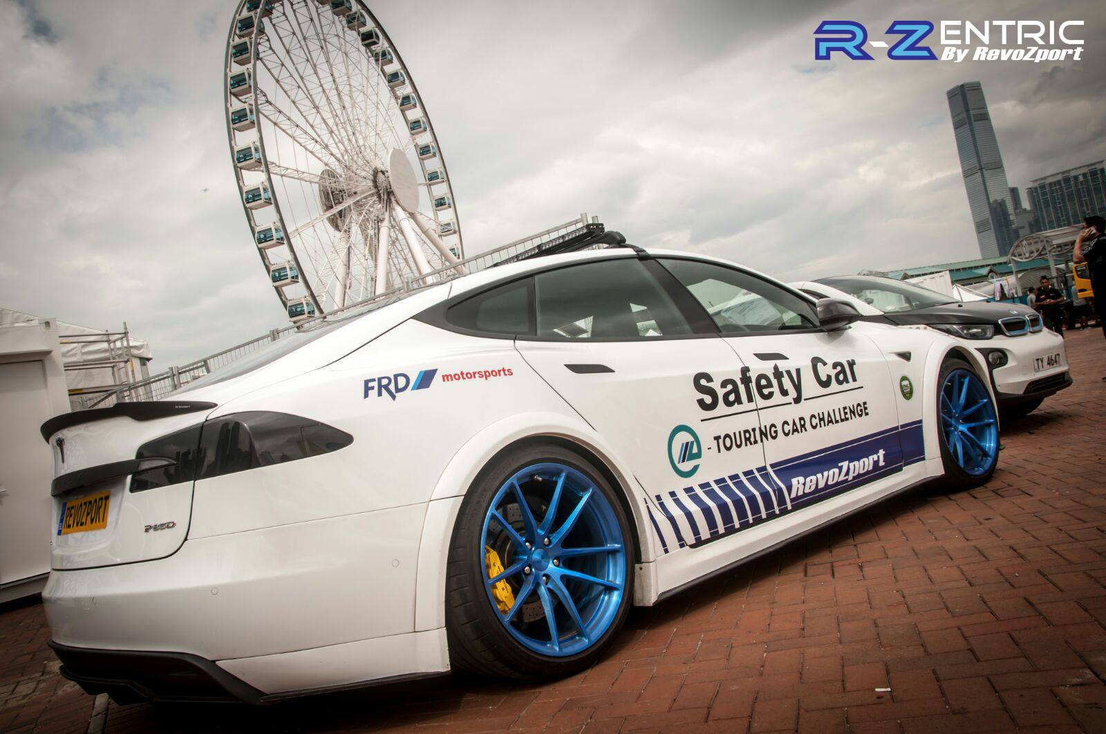 RevoZport R-Zentric Tesla Model S Formula E Safety Car