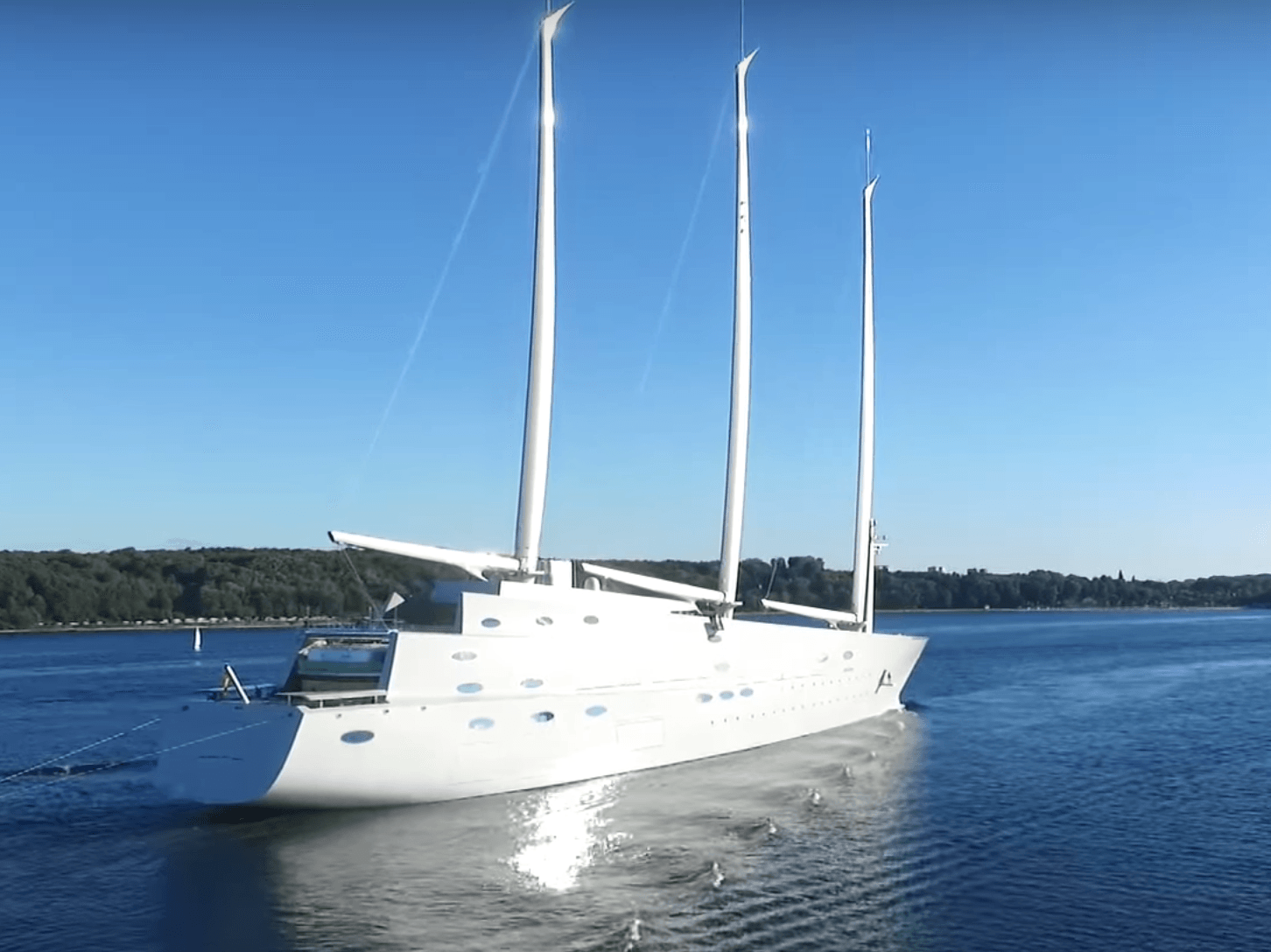 Superyacht Sunday 400 Million Sailing Yacht A 6 Cool