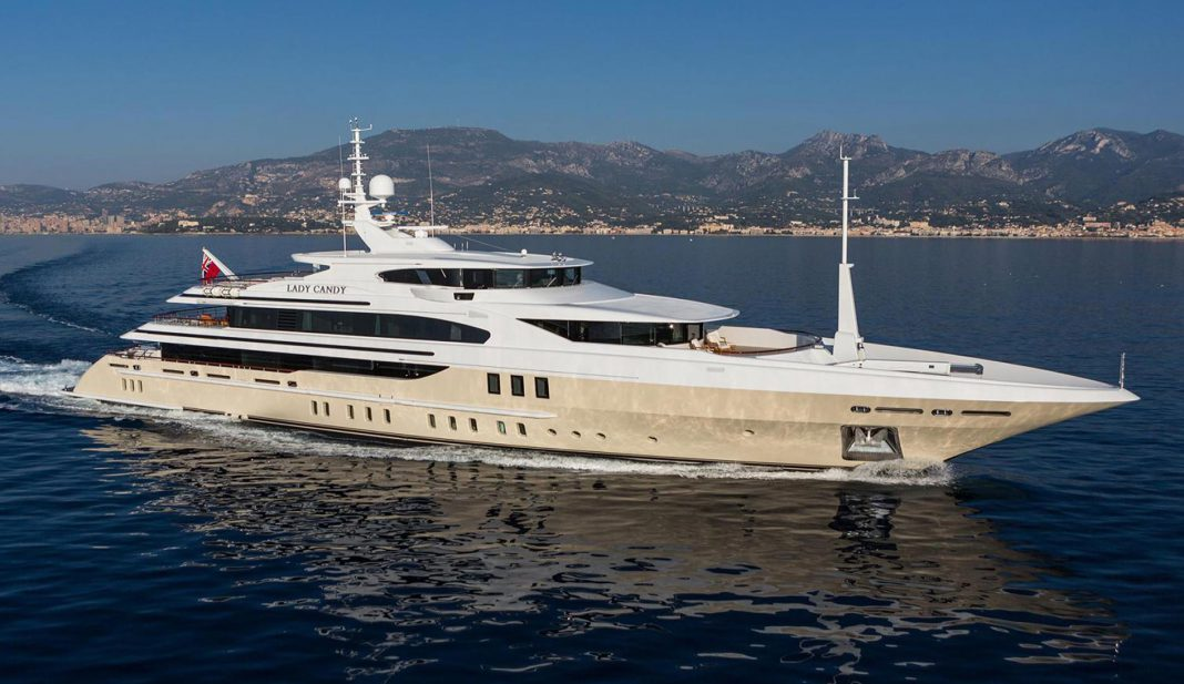 Superyacht Sunday: 56m Lady Candy by Benetti