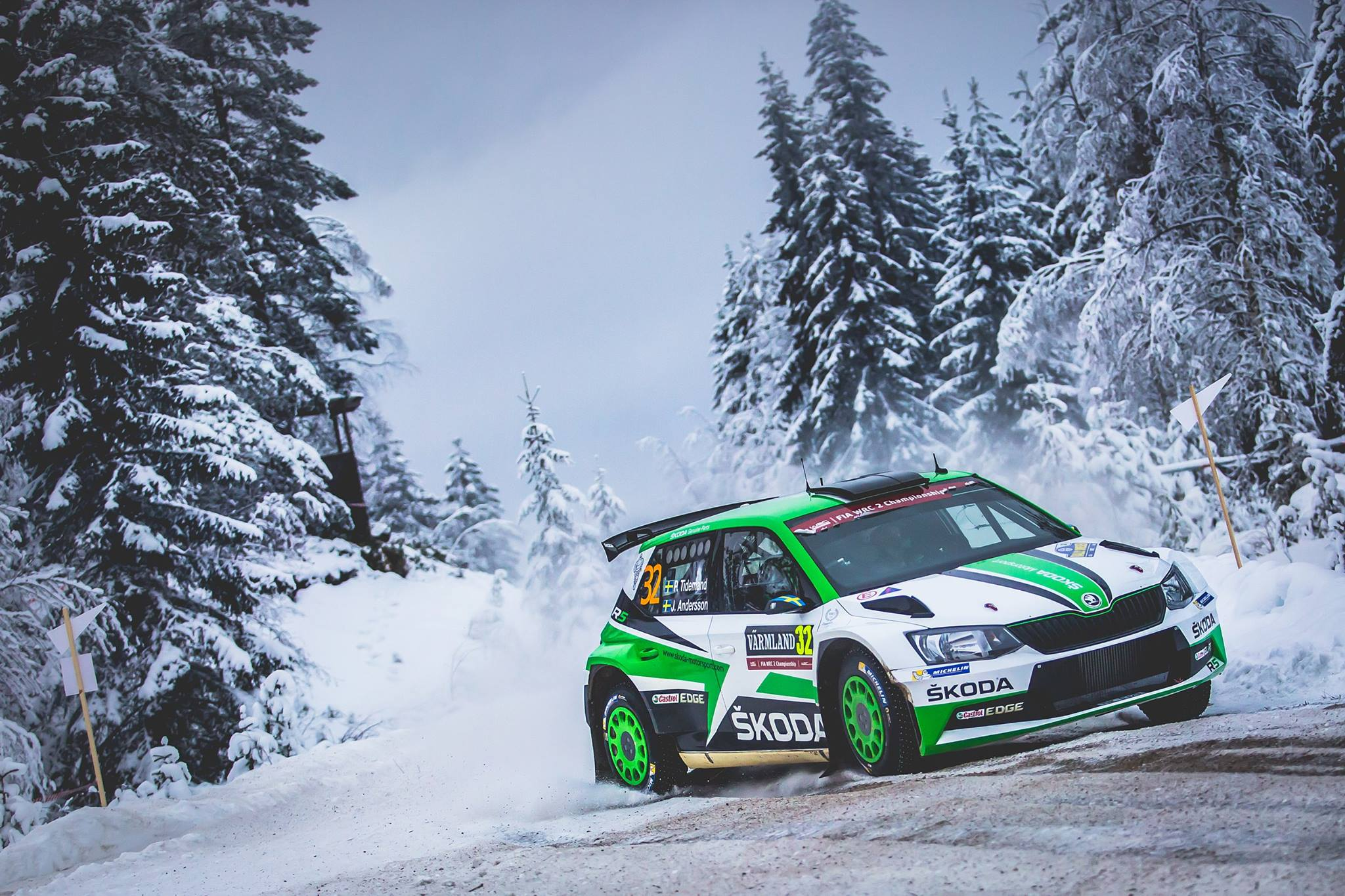 wrc latvala gives new yaris first victory at rally sweden gtspirit. Black Bedroom Furniture Sets. Home Design Ideas