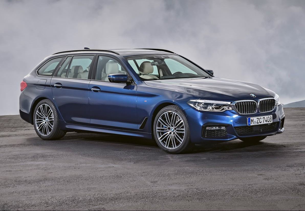 Official 2018 Bmw 5 Series Touring Gtspirit