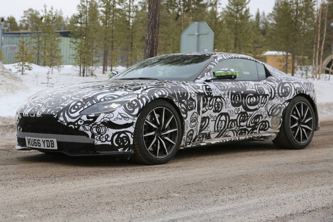 Next Gen Aston Martin DB11 with AMG V8 Spotted