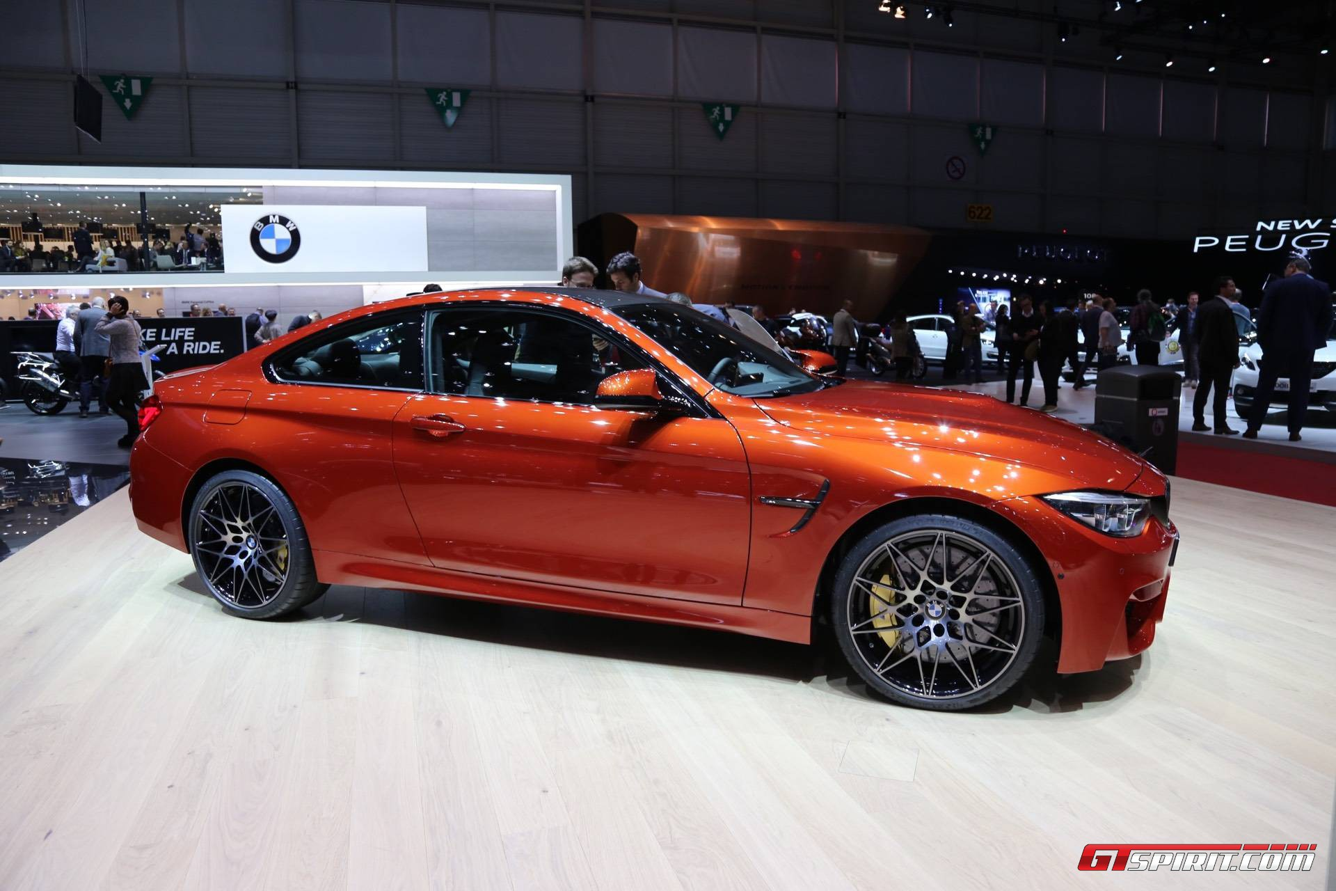 Geneva 2017 Bmw M4 Facelift Gtspirit