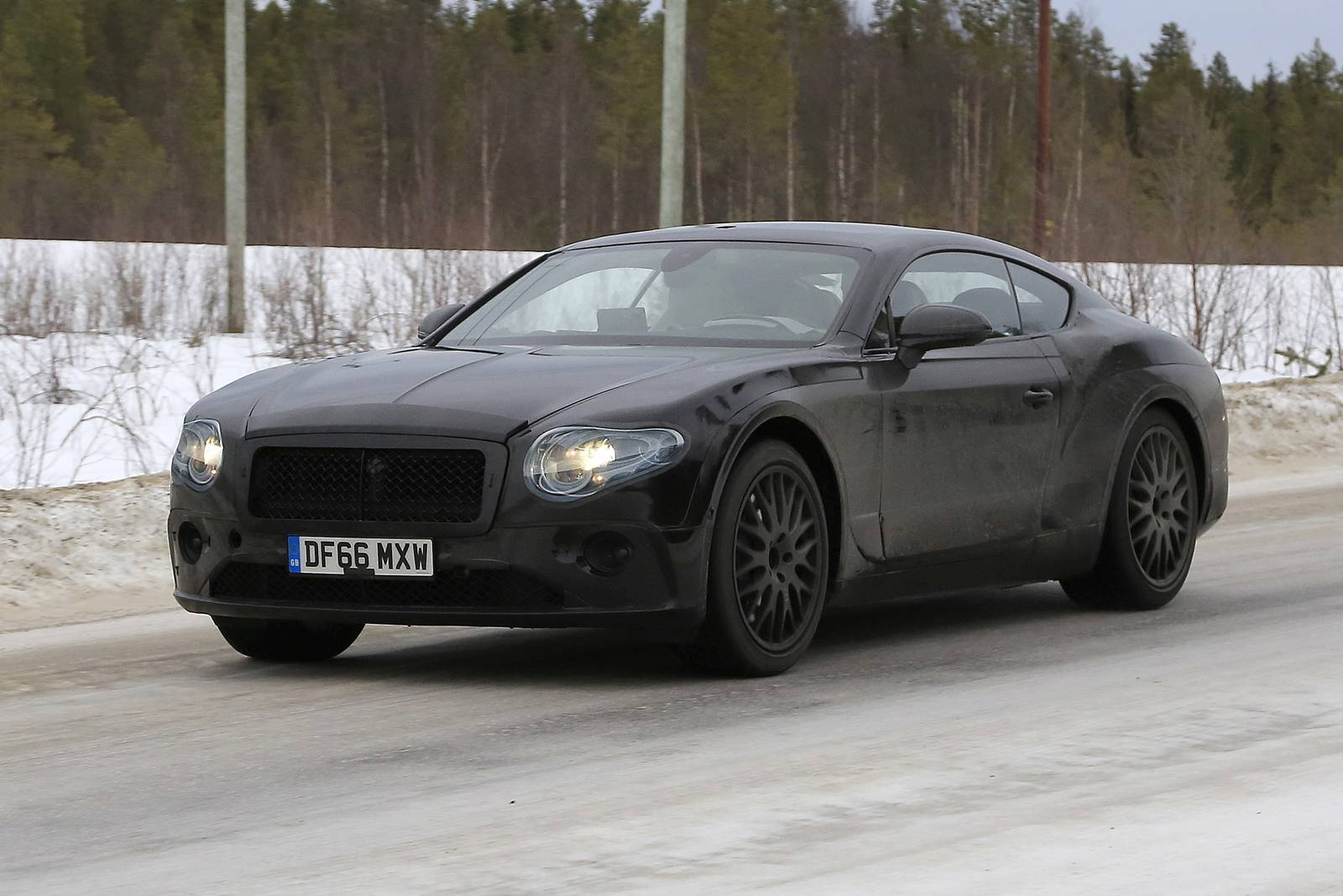 2019 bentley continental gt latest spy shots less camo gtspirit. Black Bedroom Furniture Sets. Home Design Ideas