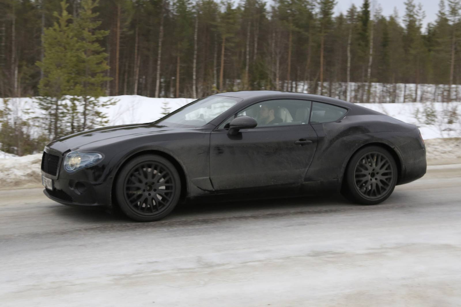 2019 Bentley Continental Gt Latest Spy Shots Less Camo