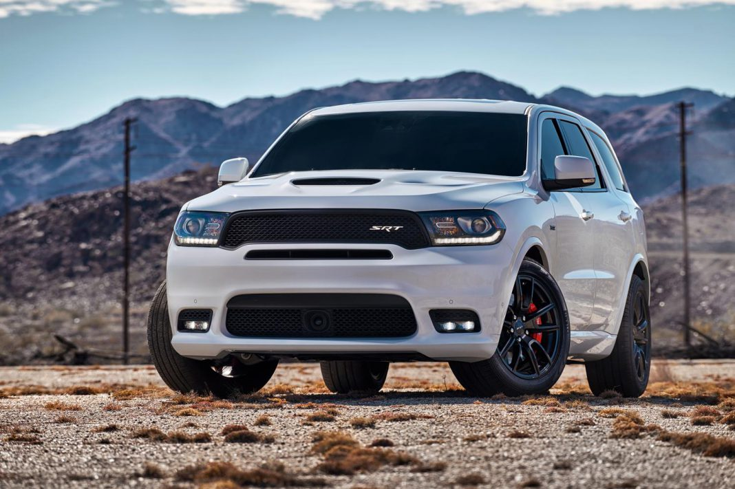 Official: 2018 Dodge Durango SRT with 475hp Hemi V8