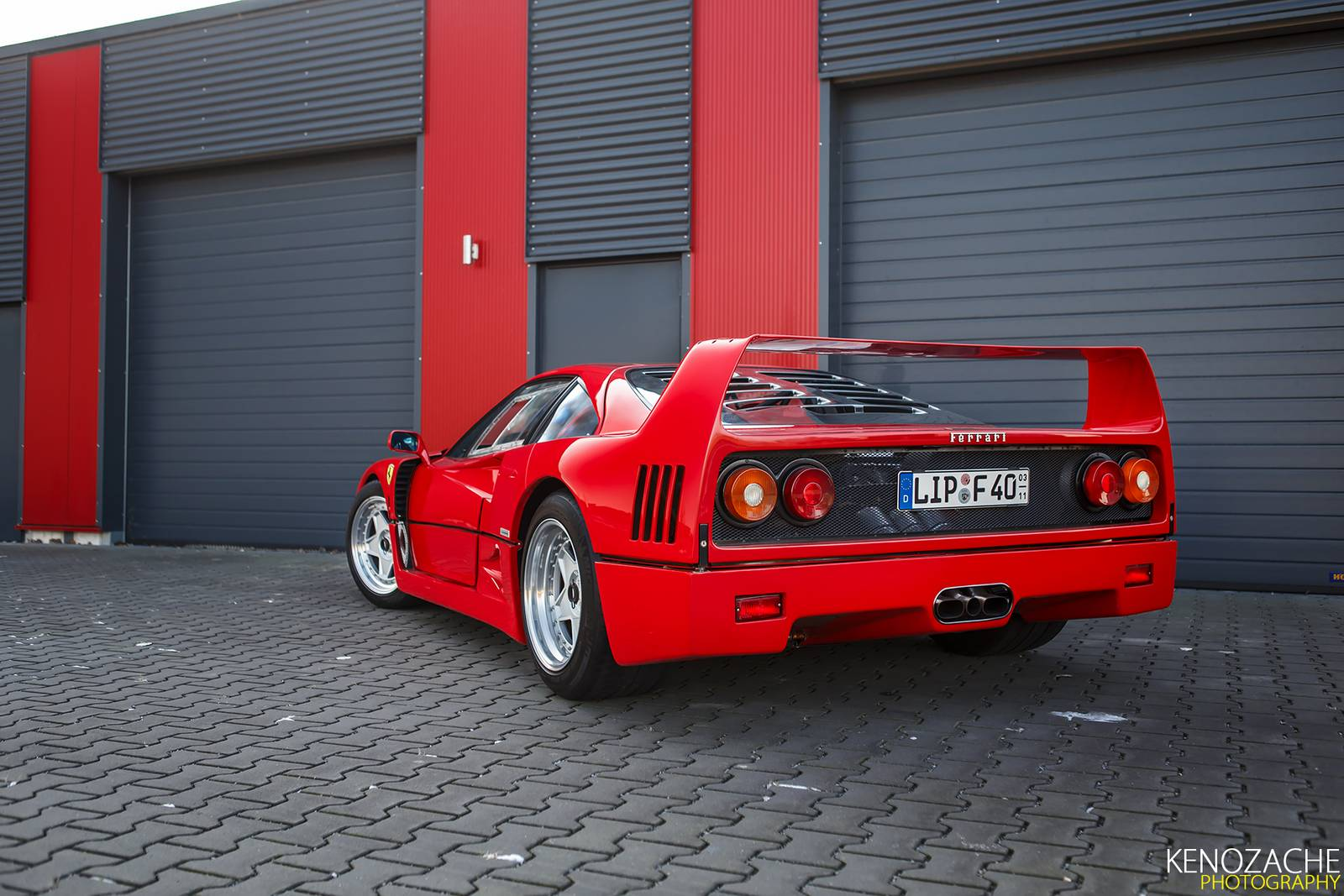 Photo Of The Day Happy 30th Birthday Ferrari F40 Gtspirit