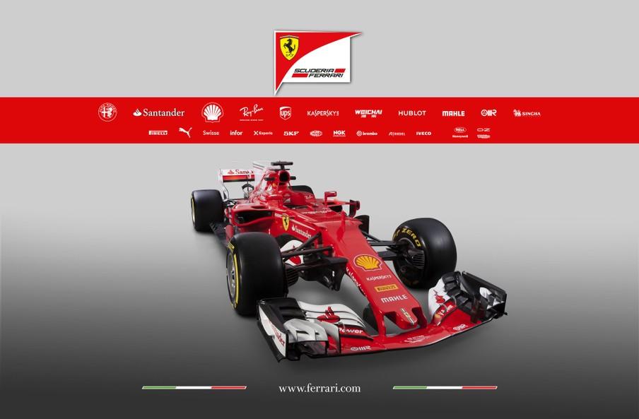 Official: 2017 Ferrari SF70h F1 Car