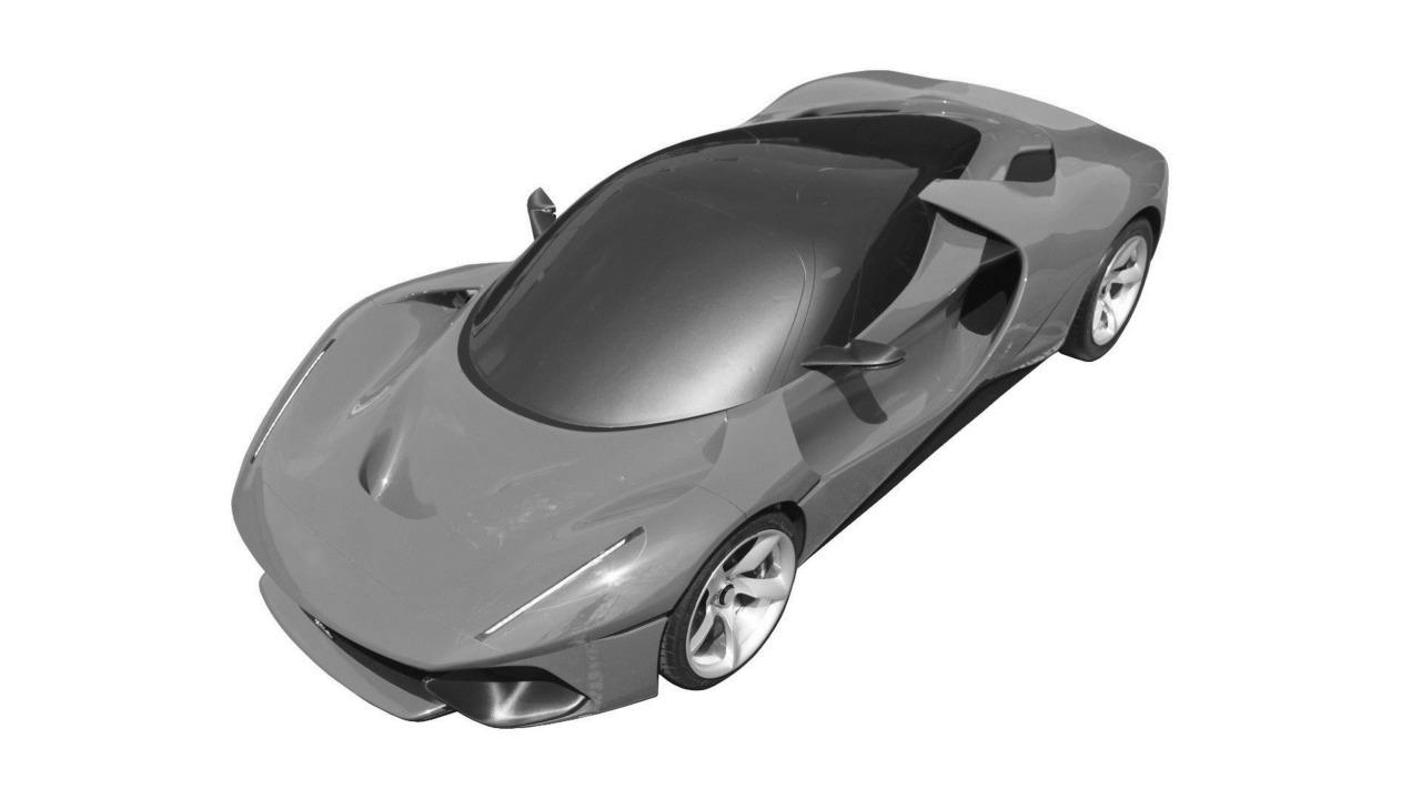 Patent Images Reveal Potential Ferrari Megacar Project