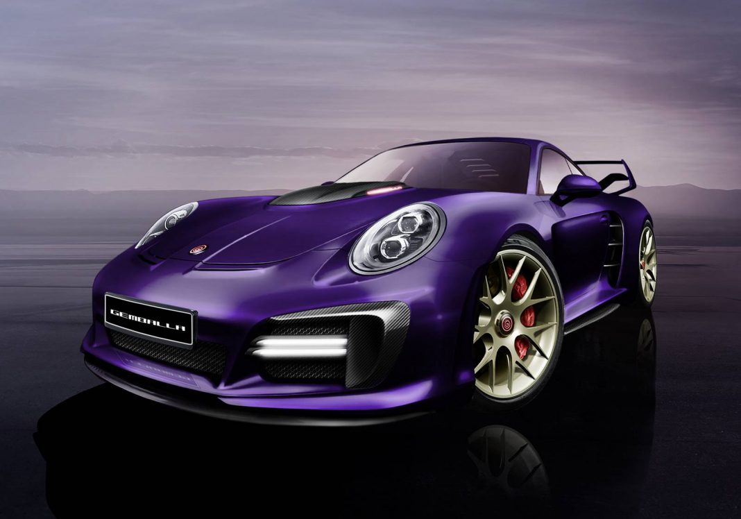 820 hp Gemballa Avalanche Teased Ahead of Geneva Debut