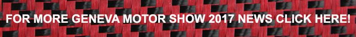 Geneva Motor Show 2017 GTspirit