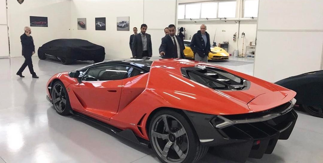 First Lamborghini Centenario Delivered To Uae Sheikh Gtspirit