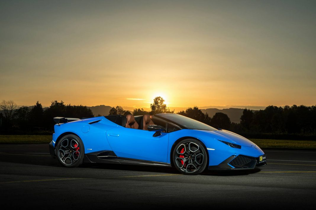Official: 805hp Lamborghini Huracan Spyder by O.CT Tuning