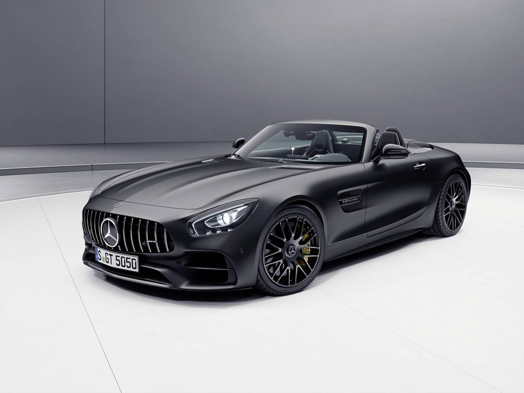 Official: Mercedes-AMG 50th Anniversary Editions