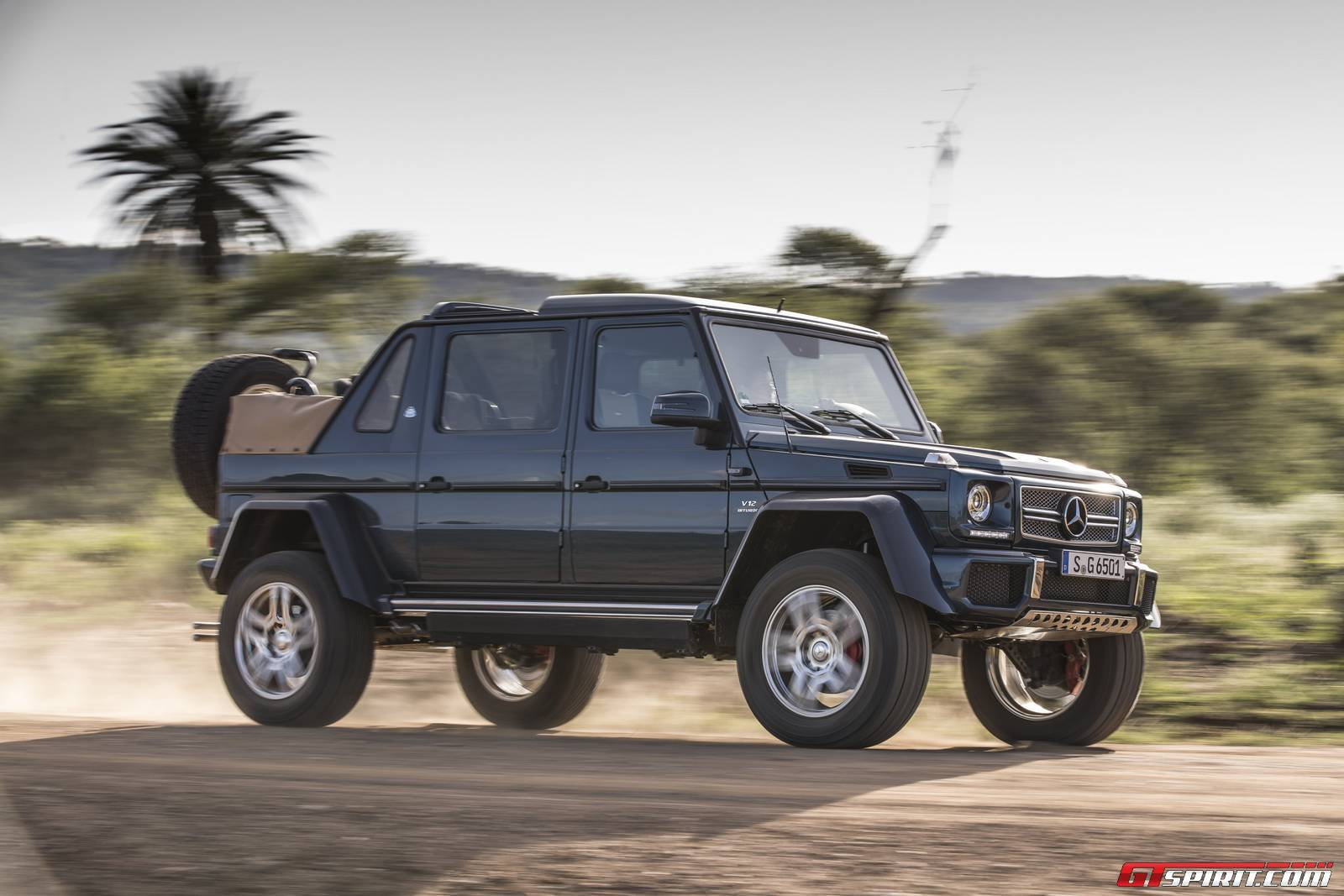 Mercedes-Maybach G650 Landaulet First Impressions