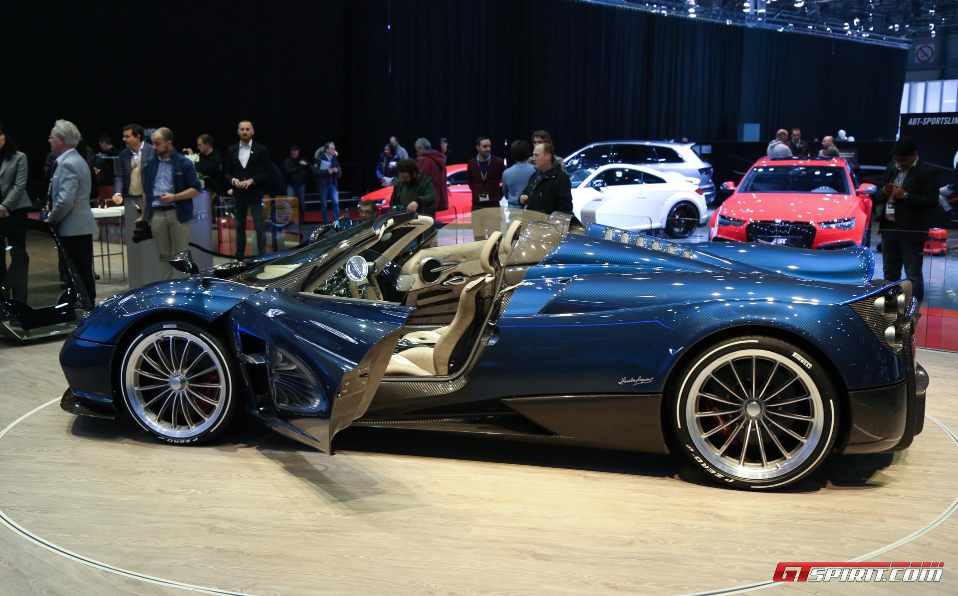 Pagani Huayra Roadster at Geneva 2017