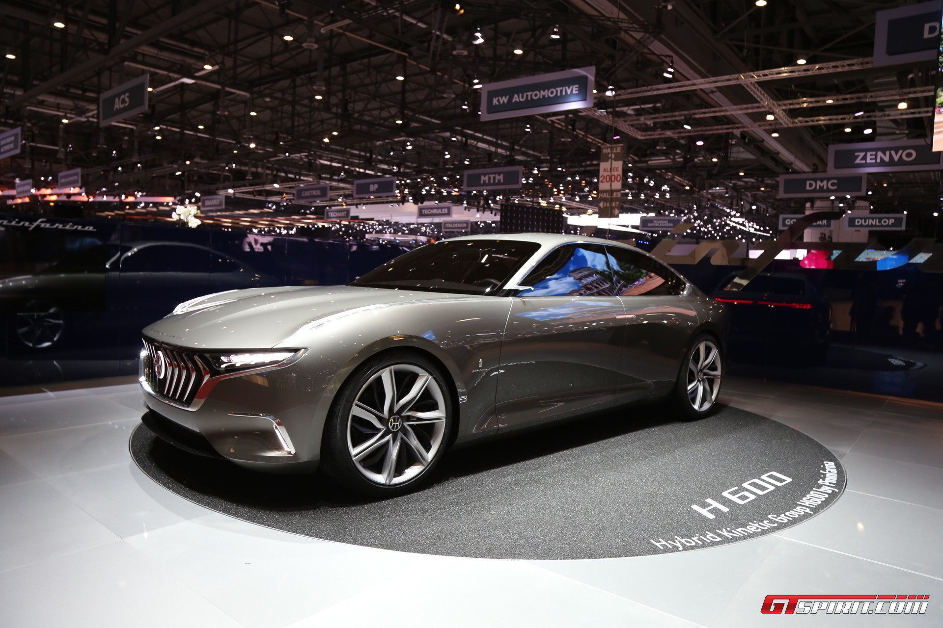 Pininfarina H600 at Geneva 2017